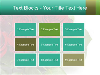 Elegant Red Rose Bouquet PowerPoint Template - Slide 68