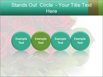 Elegant Red Rose Bouquet PowerPoint Template - Slide 76