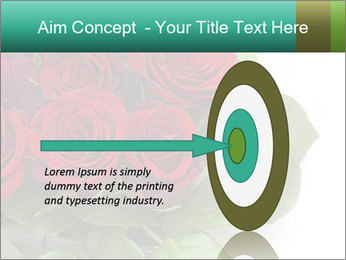 Elegant Red Rose Bouquet PowerPoint Template - Slide 83