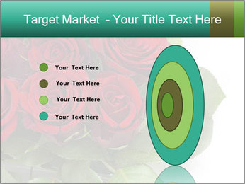 Elegant Red Rose Bouquet PowerPoint Template - Slide 84