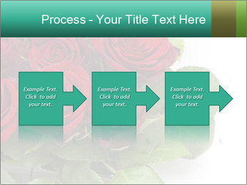 Elegant Red Rose Bouquet PowerPoint Template - Slide 88