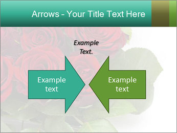 Elegant Red Rose Bouquet PowerPoint Template - Slide 90