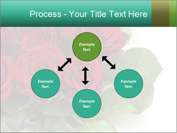 Elegant Red Rose Bouquet PowerPoint Template - Slide 91