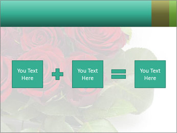 Elegant Red Rose Bouquet PowerPoint Template - Slide 95
