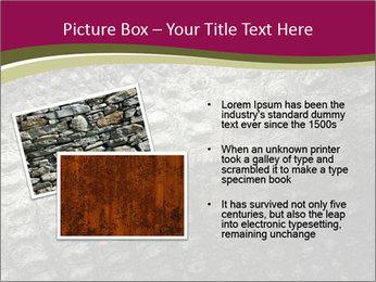 Grey Crocodile Leather PowerPoint Template - Slide 20
