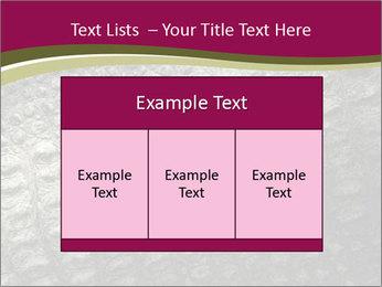 Grey Crocodile Leather PowerPoint Template - Slide 59