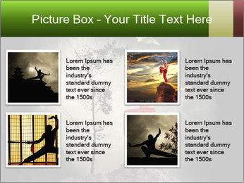 Chinese Martial Arts PowerPoint Template - Slide 14