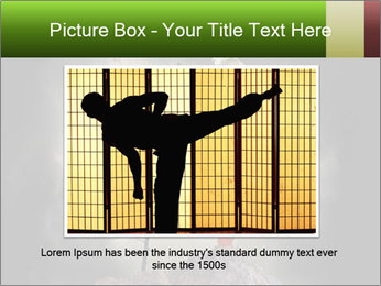 Chinese Martial Arts PowerPoint Template - Slide 15