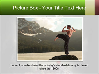 Chinese Martial Arts PowerPoint Template - Slide 16