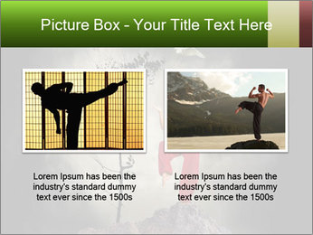 Chinese Martial Arts PowerPoint Template - Slide 18
