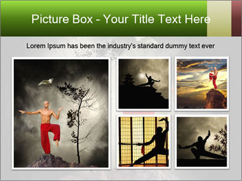Chinese Martial Arts PowerPoint Template - Slide 19