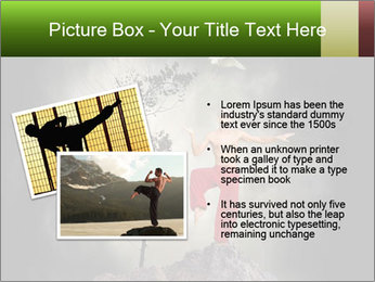 Chinese Martial Arts PowerPoint Template - Slide 20