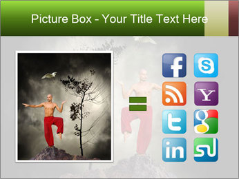 Chinese Martial Arts PowerPoint Template - Slide 21
