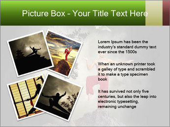 Chinese Martial Arts PowerPoint Template - Slide 23