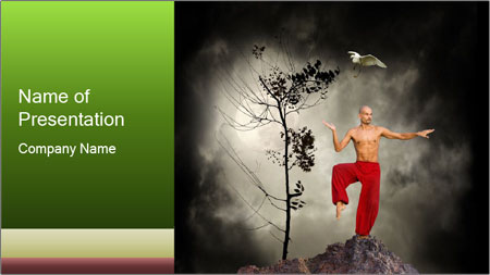 Chinese Martial Arts PowerPoint Template