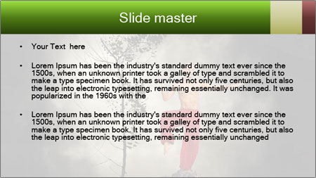 Chinese Martial Arts PowerPoint Template - Slide 2