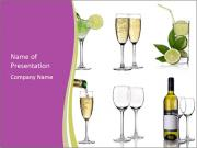 Types of Drinks PowerPoint Templates
