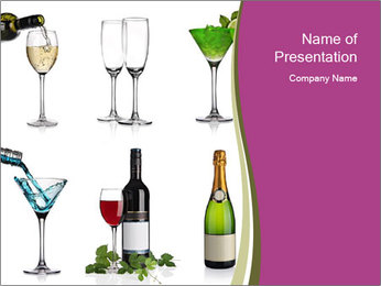 Choice of Beverage PowerPoint Templates - Slide 1