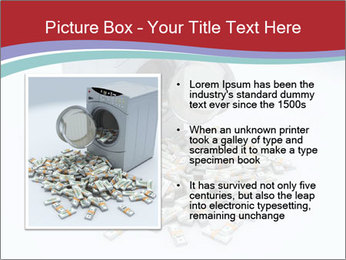 Money and Washing Machine PowerPoint Templates - Slide 13