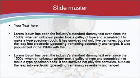 Money and Washing Machine PowerPoint Template - Slide 2