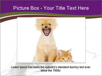 Cat Drawing PowerPoint Template - Slide 16