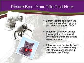 Cat Drawing PowerPoint Template - Slide 17