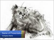Scratch Cat PowerPoint Templates