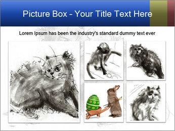 Scratch Cat PowerPoint Template - Slide 19