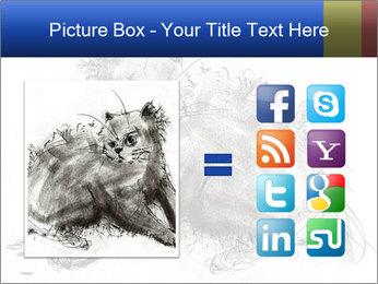 Scratch Cat PowerPoint Template - Slide 21
