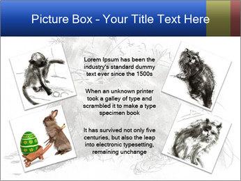 Scratch Cat PowerPoint Template - Slide 24
