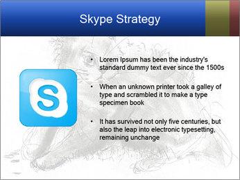 Scratch Cat PowerPoint Template - Slide 8