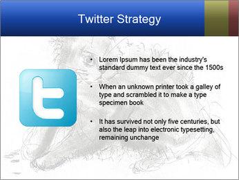 Scratch Cat PowerPoint Template - Slide 9