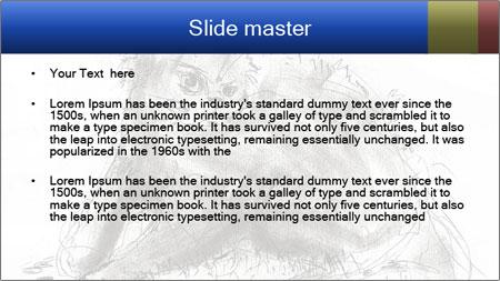 Scratch Cat PowerPoint Template - Slide 2
