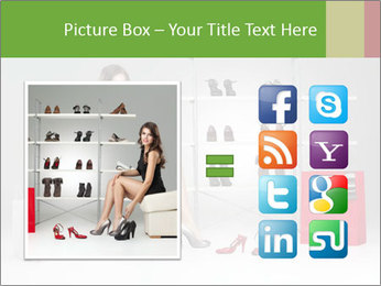 Shoes Show Room PowerPoint Template - Slide 21