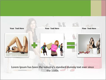 Shoes Show Room PowerPoint Template - Slide 22