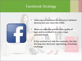 Shoes Show Room PowerPoint Template - Slide 6