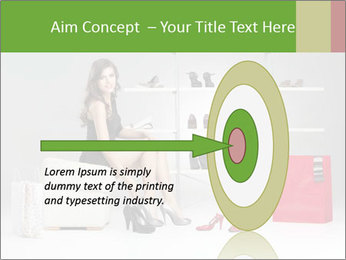 Shoes Show Room PowerPoint Template - Slide 83