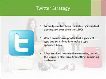 Shoes Show Room PowerPoint Template - Slide 9