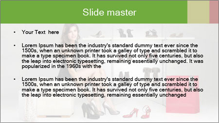 Shoes Show Room PowerPoint Template - Slide 2