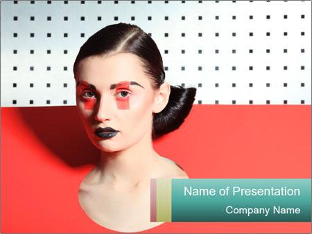 Deometric Idea in Fashion PowerPoint Template
