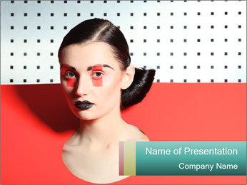 Deometric Idea in Fashion PowerPoint Template - Slide 1