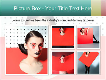 Deometric Idea in Fashion PowerPoint Template - Slide 19