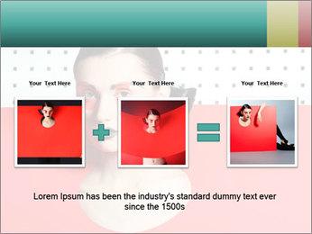 Deometric Idea in Fashion PowerPoint Template - Slide 22