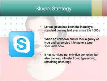 Deometric Idea in Fashion PowerPoint Template - Slide 8
