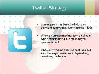 Deometric Idea in Fashion PowerPoint Template - Slide 9