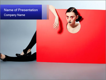 Geometric Photo Shooting PowerPoint Templates - Slide 1