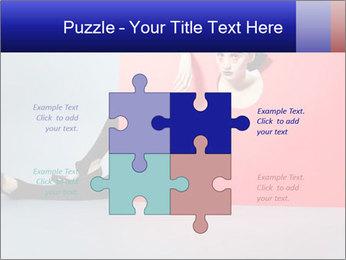 Geometric Photo Shooting PowerPoint Template - Slide 43
