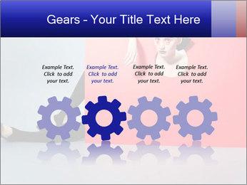 Geometric Photo Shooting PowerPoint Template - Slide 48