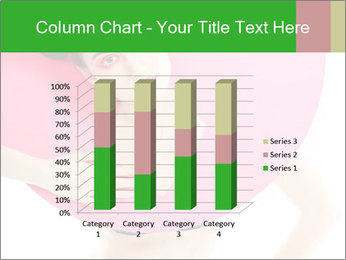 Model with Pink Circle on her Neck PowerPoint Template - Slide 50