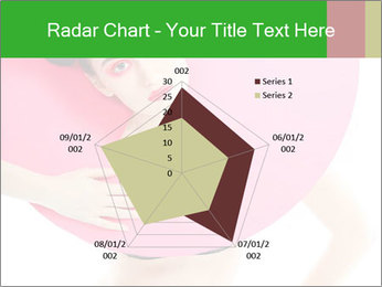 Model with Pink Circle on her Neck PowerPoint Template - Slide 51